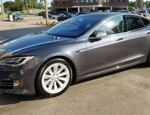 Opt-Coat Pro Plus on a Tesla P75D