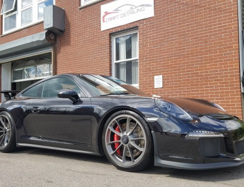 Detailing this Porsche GT3 – The Best Full Detail