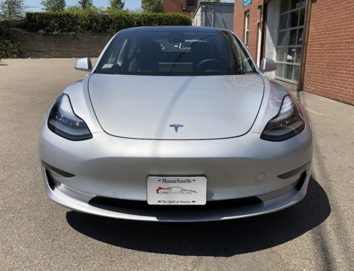 Tesla Model 3 in for Opti-Coat Pro Plus Ceramic Coating and XPEL Ultimate Plus
