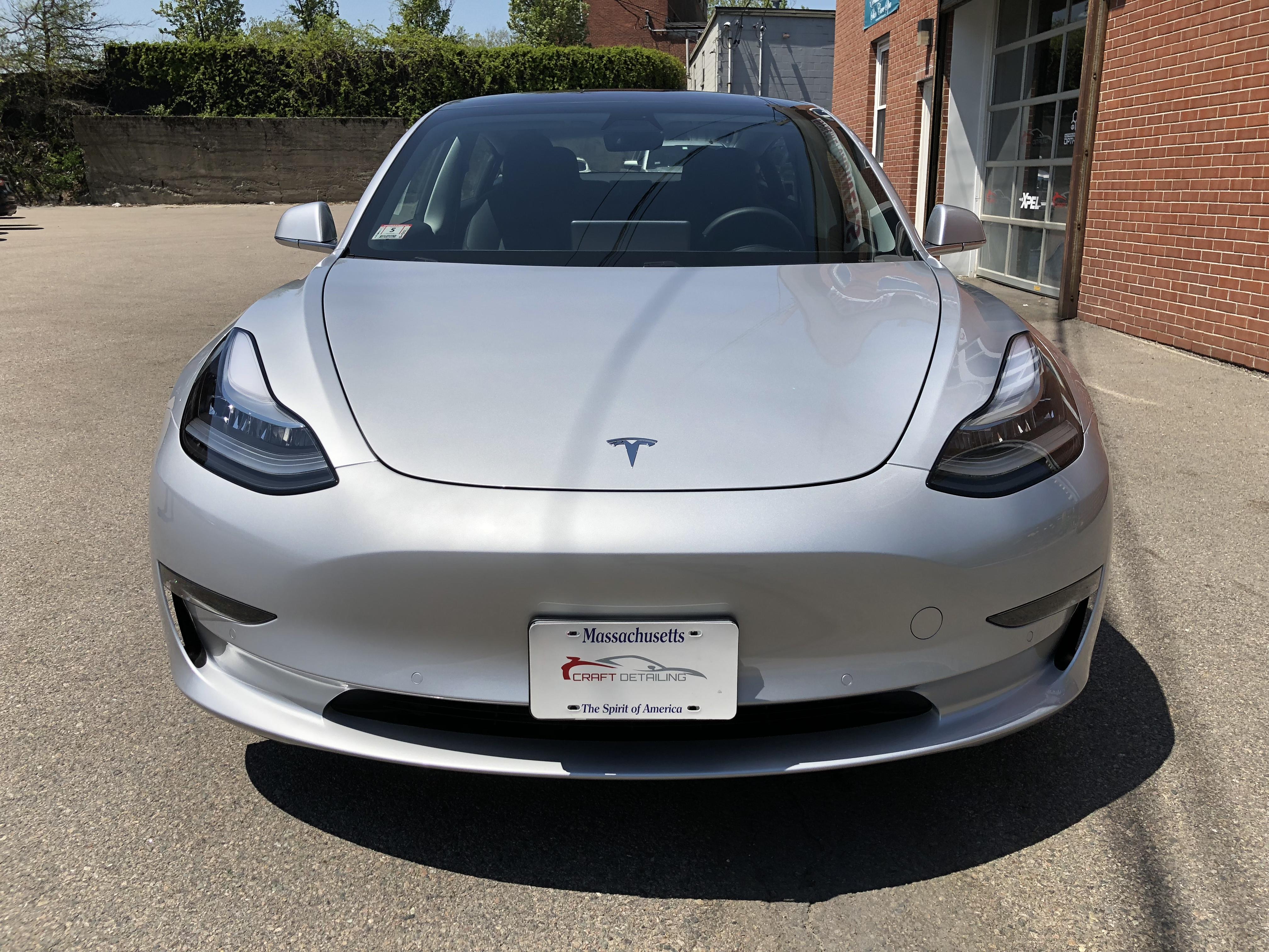 XPEL Ultimate Plus Tesla Model 3 - Craft Detailing